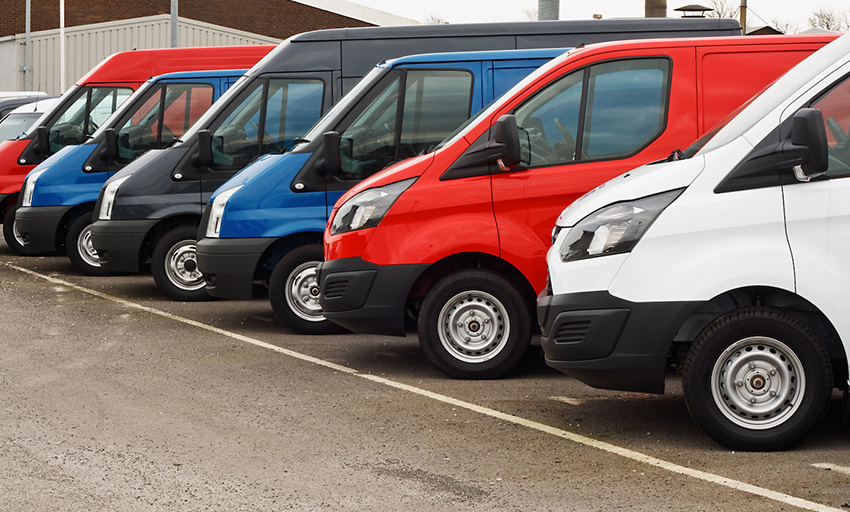 Fleet and commercial paint jobs